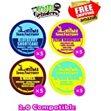 20 Count - Java Factory Seasonal Variety Pack k-cups featuring Blueberry Shortcake, Flyin' Hawaiian, Spring Break and S'mores