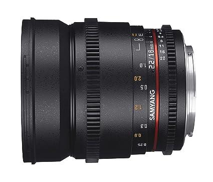 Samyang F1322709101 - Objetivo para vídeo VDSLR para Micro Cuatro ...