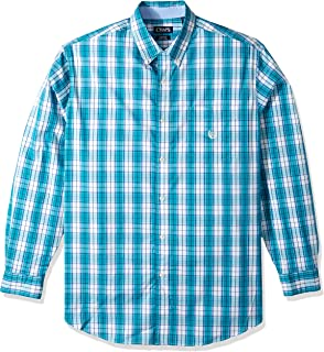 Chaps Mens Big and Tall Long Sleeve Performance Button Down Shirt