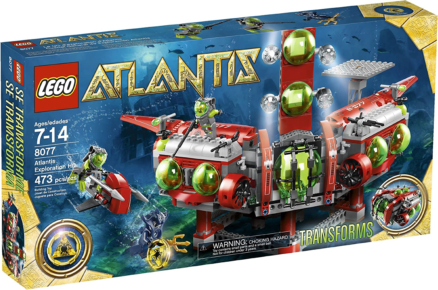 Top 9 Best LEGO Atlantis Sets Reviews in 2020 4