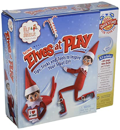 5f1e3002f Amazon.com  Elf on The Shelf Scout Elves at Play Kit  Toys   Games