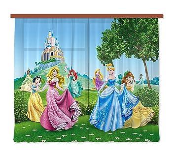 Kinderzimmer Disney | Amazon De Gardine Vorhang Fcs Xl 4319 Kinderzimmer Disney Princess