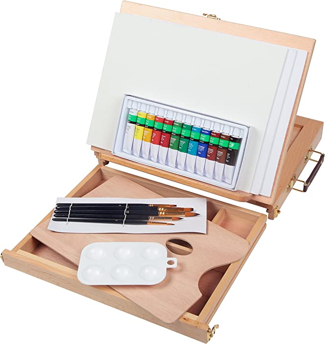 Top 9 Desktop Easel With Acrylic Paints Kit