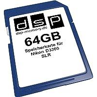 64 GB geheugenkaart voor Nikon D3300 SLR