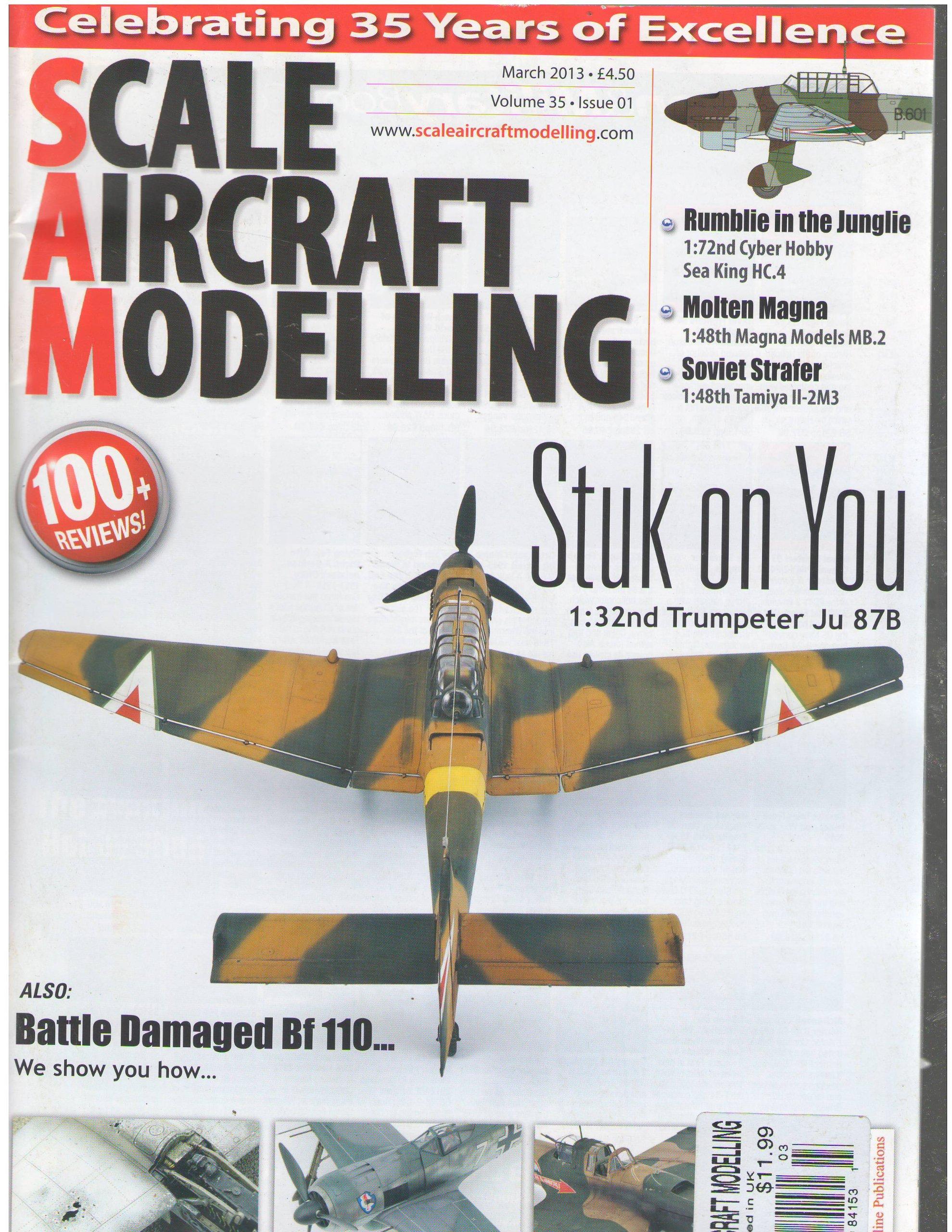 Download Scale Aircraft Modelling Magazine March 2013 pdf epub