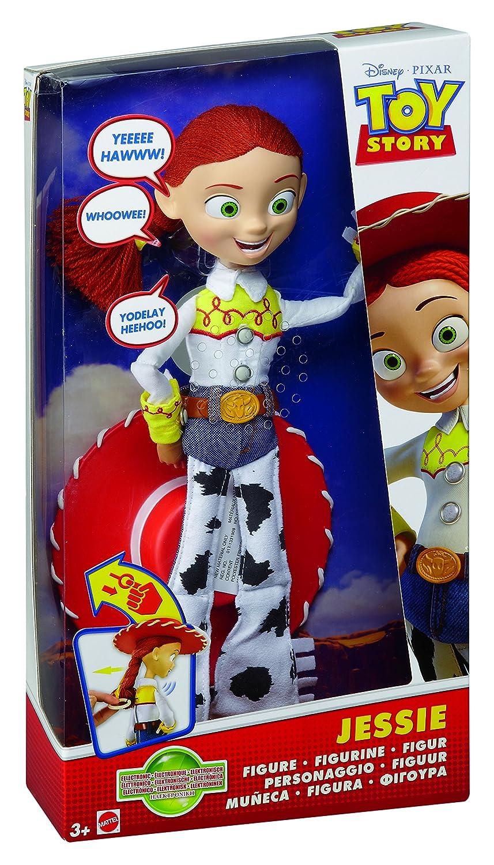 Amazon.es  Toy Story Disney Muñeca electrónica Jessie (Mattel T0516)   Juguetes y juegos ca73cddd664