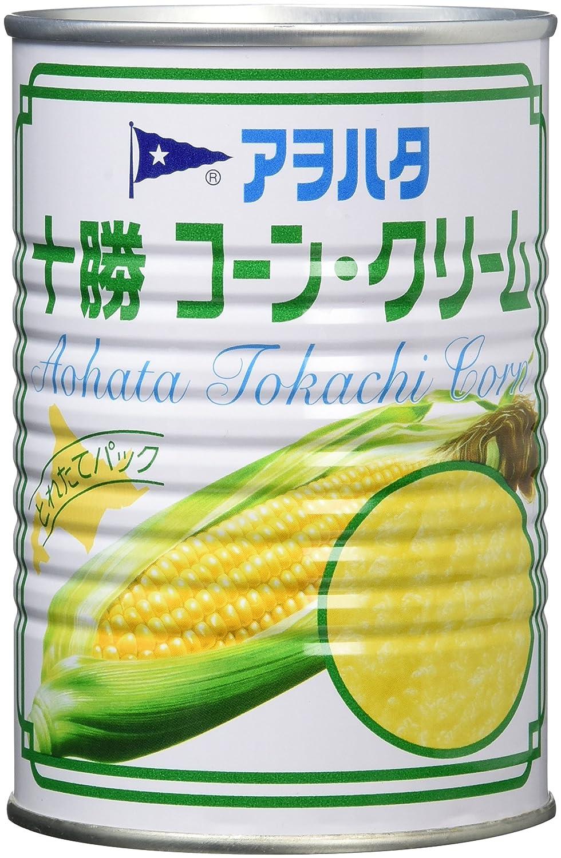 アヲハタ 十勝コーンクリーム 4号缶(EO) 435g×4個