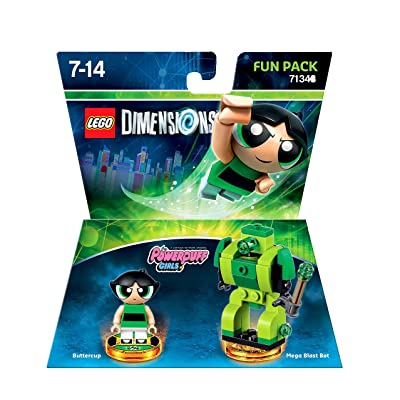 LEGO Dimensions, Fun Pack, Powerpuff Girls, 2 Figuren: Video Games