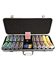 13.5 Gram 500 Piece Poker Chip Set