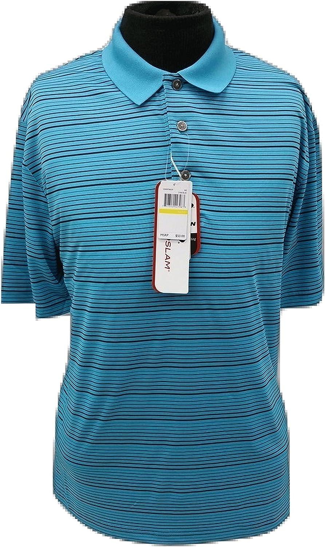 Grand Slam Golf Motionflow SS Tonal textura camisa de Polo