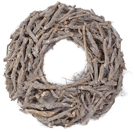 Wood Root Wreath 50 Cm Wreath Shabby Chic Vintage Decorative