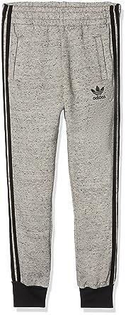 e2ca947a544161 adidas Hosen – J Trf Ft grau schwarz Größe  147-152 cm groß - 11 bis ...