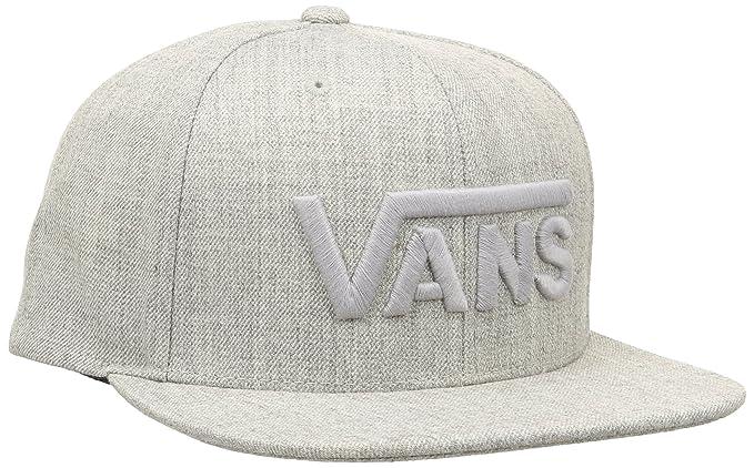 Vans M Drop V Snapback HA Heather Grey 4ec9c1e6cb65