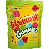Starburst Mini Upwrapped Gummies New Resealable Pouch 8oz (Sours)