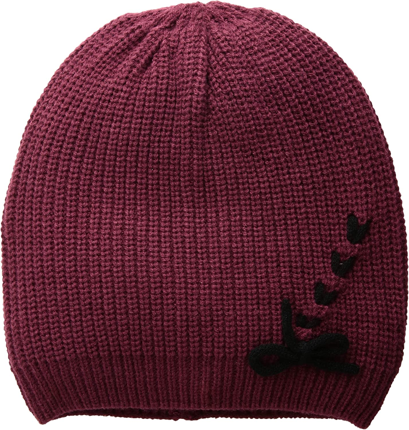 Vince Camuto Womens Laced Up Beanie