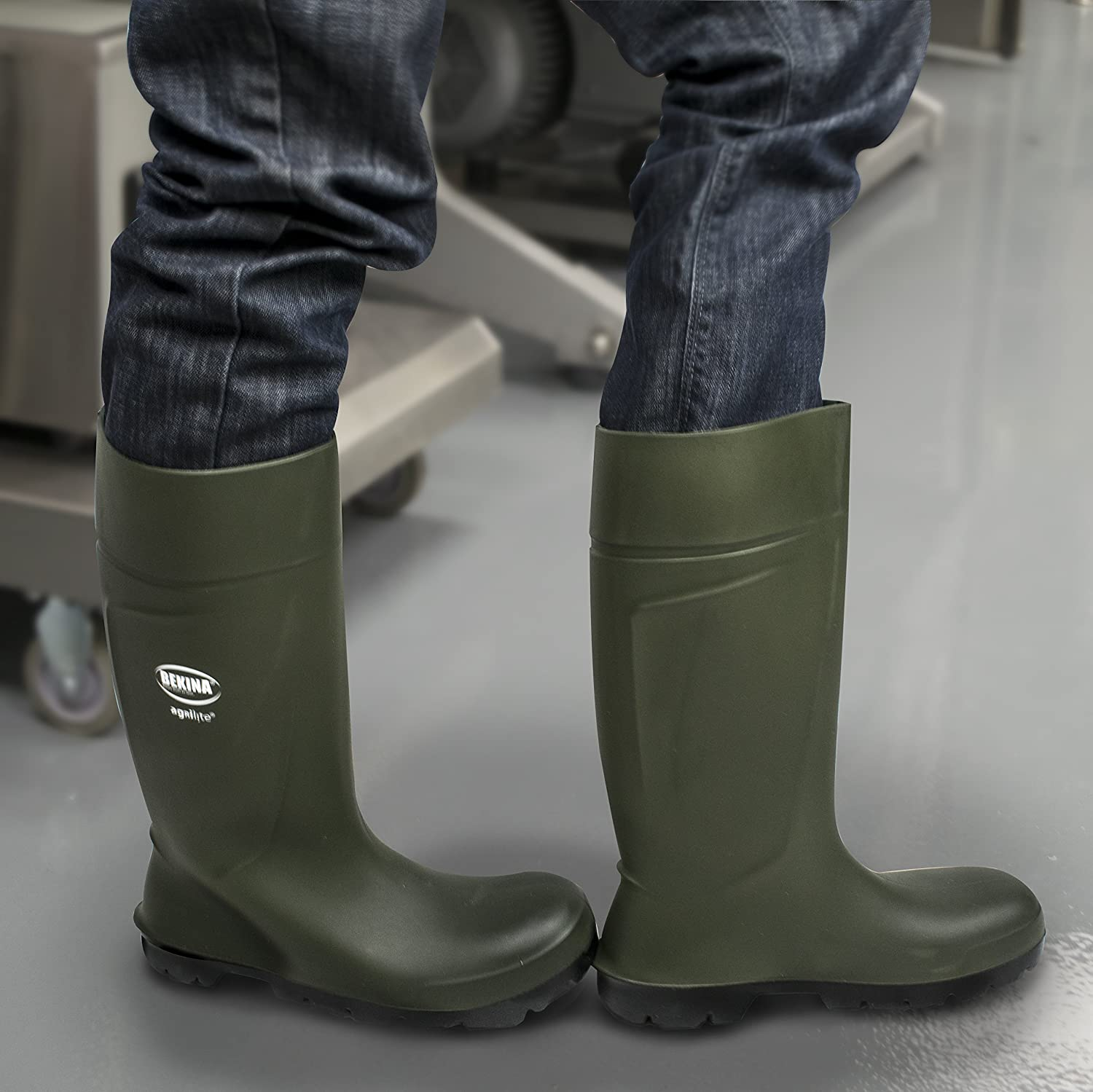 Size 5 Green StepliteX UltraSource Bekina Boots