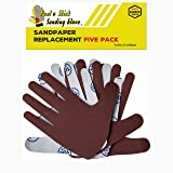 Sandpaper Replacement Five Pack - RIGHT HAND Assorted Grits