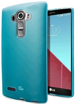 Funda LG G4, Cimo [Antideslizante] Carcasa de Plástico Fino, Antideslizanteible y Suave para LG G4 (2015) - Azul