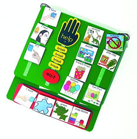 Amazon.com : Large PECS Communication Book (Picture Exchange Communication System) : Office Products