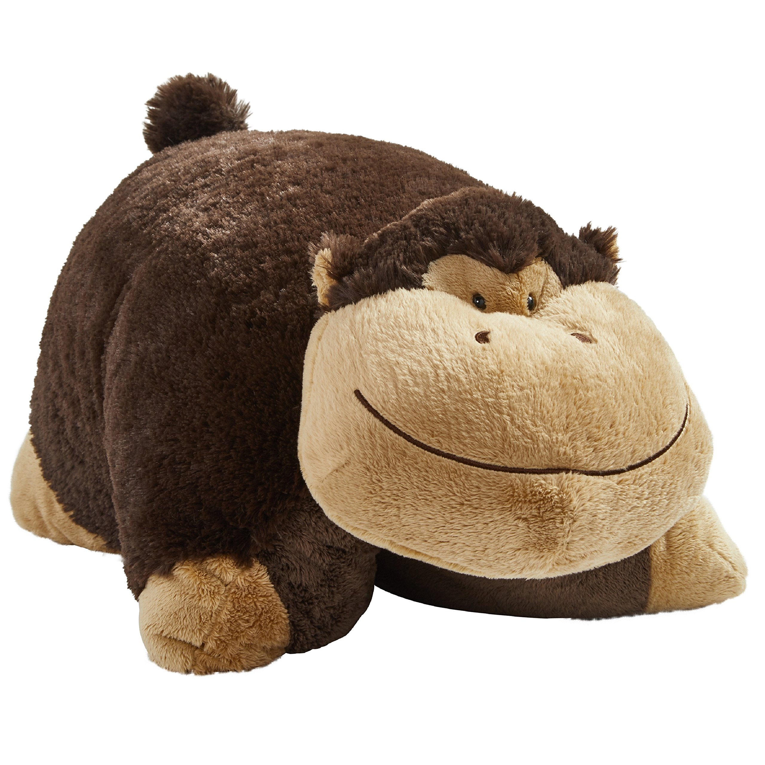 Pillow Pets Signature, Silly Monkey, 18'' Stuffed Animal Plush Toy
