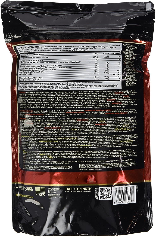 Optimum Nutrition Whey Gold Standard Protein Chocolate 450g Beutel
