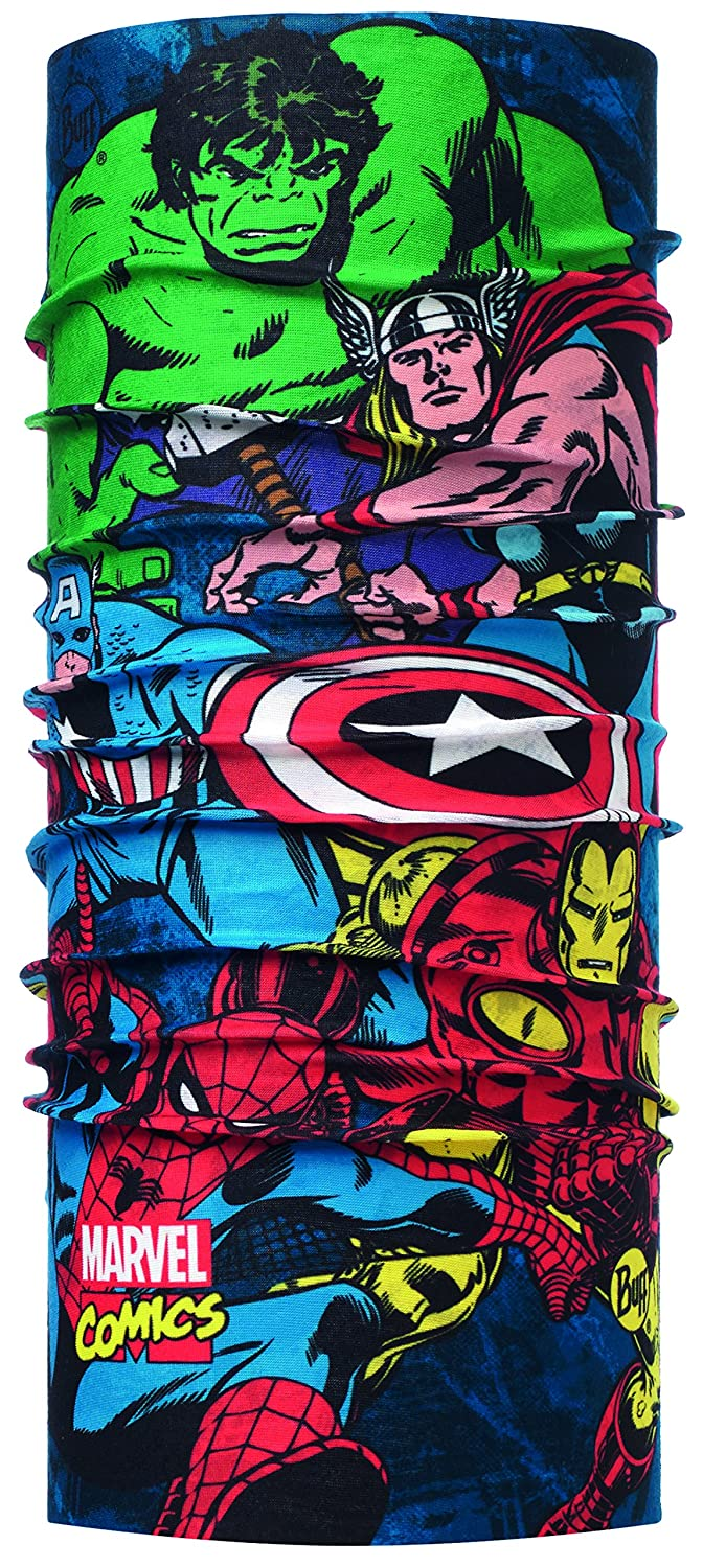 Buff Superheroes Ready To Fight Multi Buff 116096.555.10.00 Scaldacollo Uomo Taglia Unica