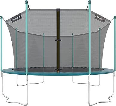 Ultrasport Cama elástica de jardín Jumper, set de trampolin ...