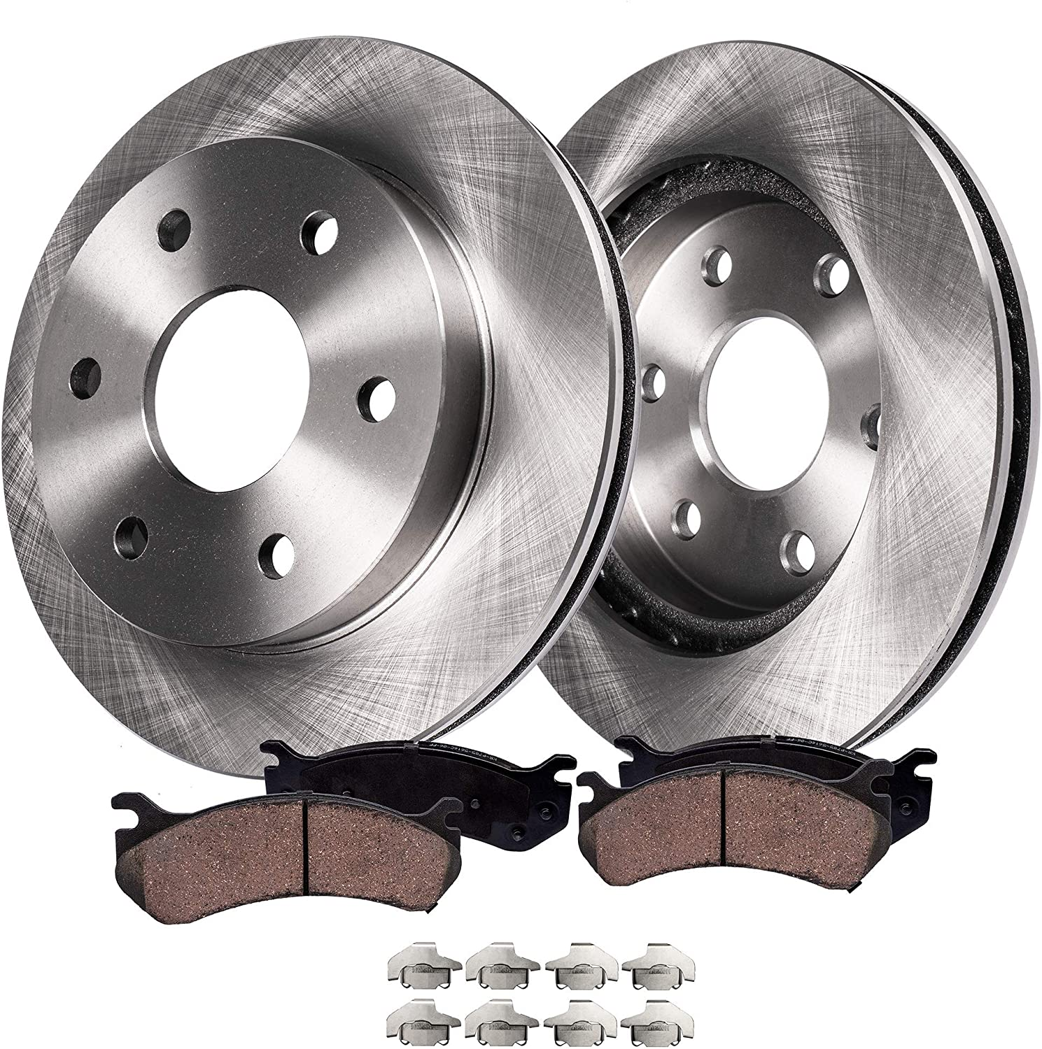 Hardware Kits Not Included 2015 fits Nissan Frontier SV Front Ceramic Brake Pads with Two Years Manufacturer Warranty DNA