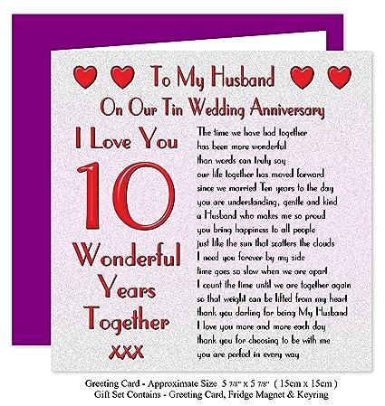 Ten year wedding anniversary pictures