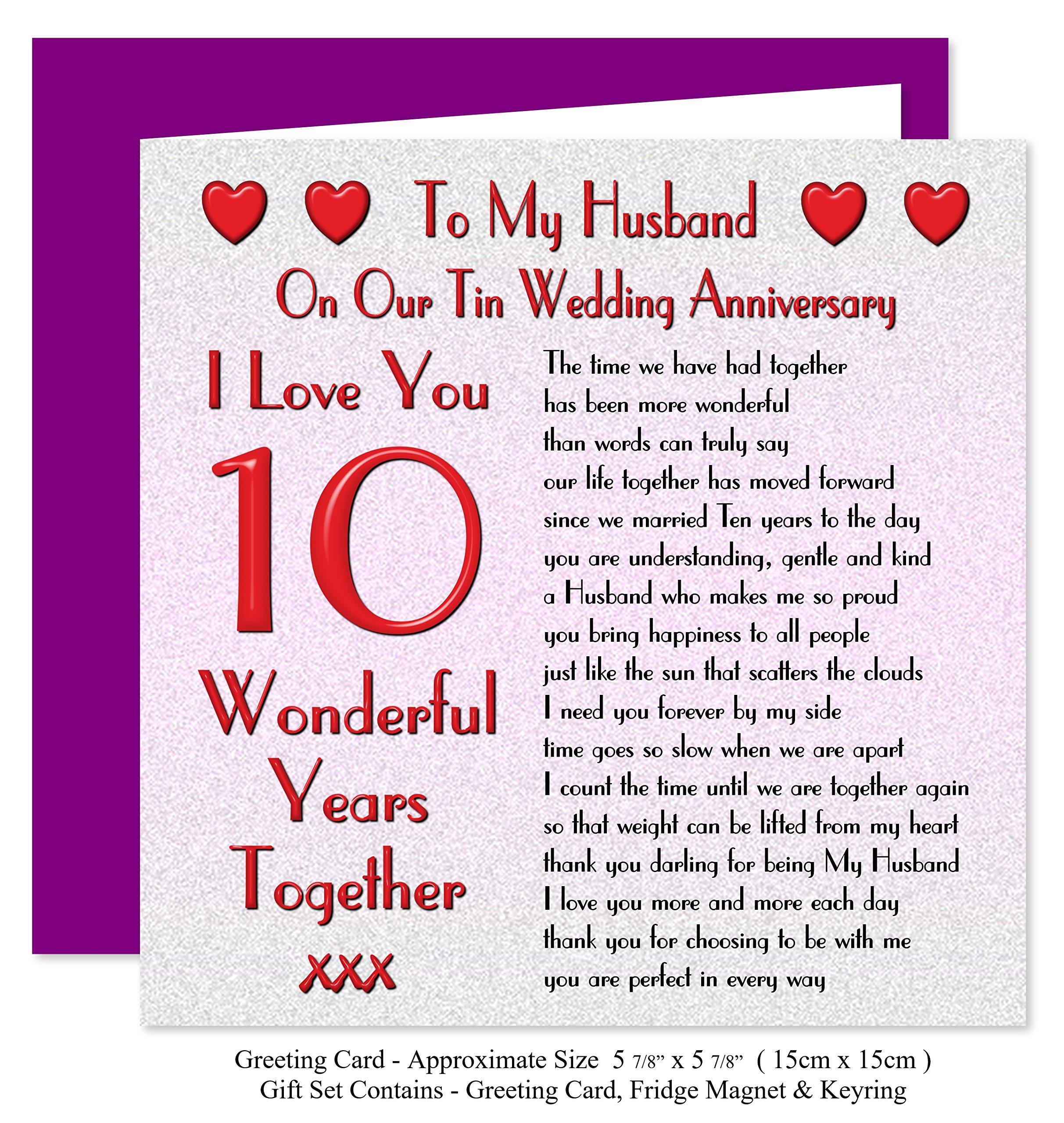My Husband 10th Wedding Anniversary Gift Buy Online In Botswana At Desertcart