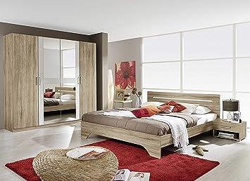 Camera Da Letto Bianco : Avanti trendstore rubi camera da letto completa in laminato di