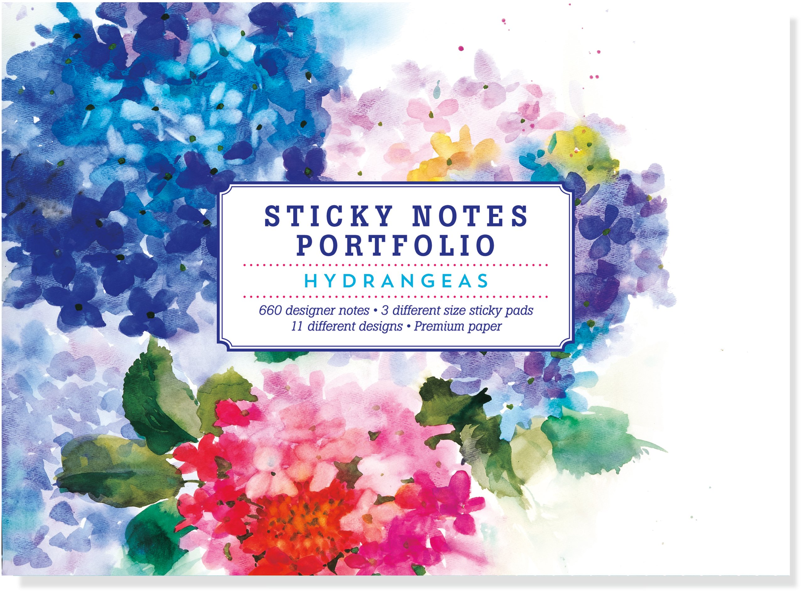 Hydrangeas Sticky Notes