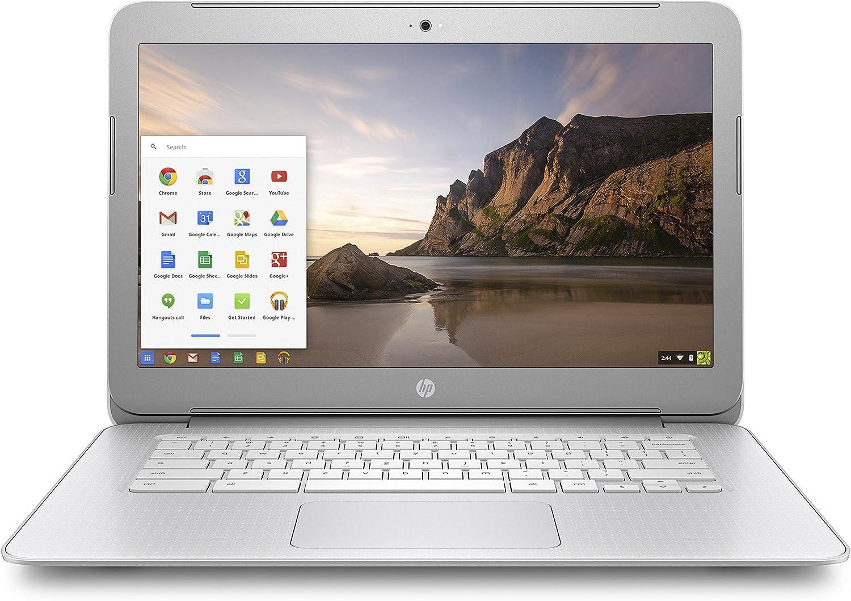 HP Chromebook, Intel Celeron N2840, 4GB RAM, 16GB eMMC with Chrome OS (14-ak040nr)