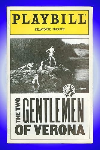 Amazon.com: Two Gentlemen of Verona, Off-Broadway Playbill + ...