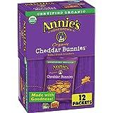 Annie's Homegrown, Cracker Cheddar Bunnies Organic 12 Count, 12 Ounce