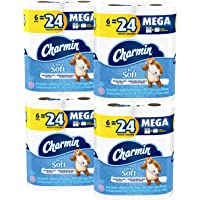 24-Count Charmin Ultra Soft Mega Roll Toilet Paper