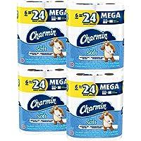 24-Count Charmin Ultra Soft Mega Roll Toilet Paper