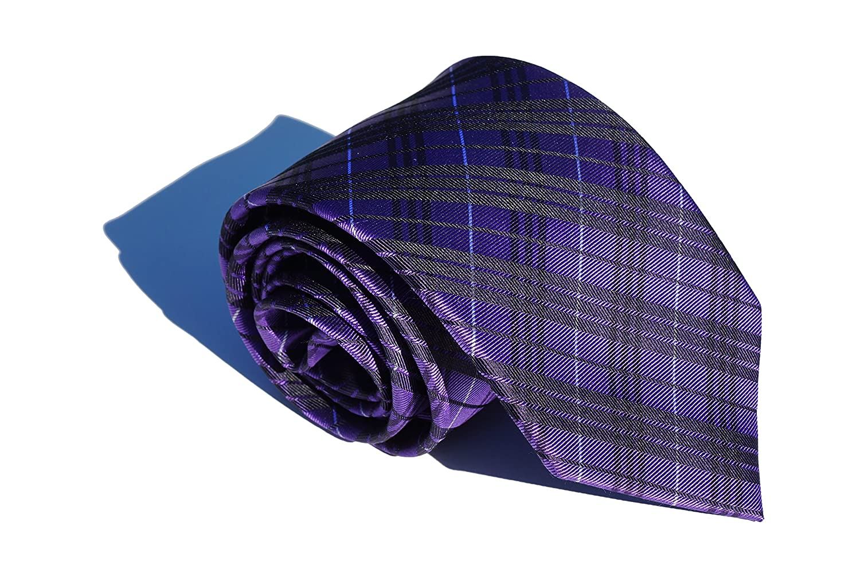 Corbatas Eva Salinero - Corbata de Cuadros de Seda 100% Natural ...