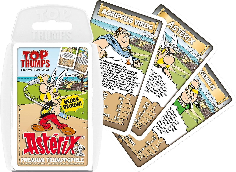 Winning Moves Top Trumps Asterix Spiel Quartett Quartettspiel Kartenspiel Amazon De Spielzeug