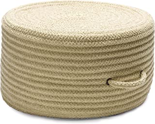 product image for Solid Chenille Pouf U834 Ottoman