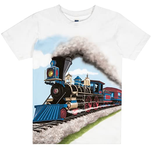 Shirts That Go Little Boys' Steam Train T-Shirt