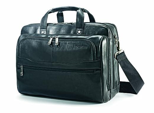 Amazon.com   Samsonite Vachetta Leather 2 Pocket Business Case ...