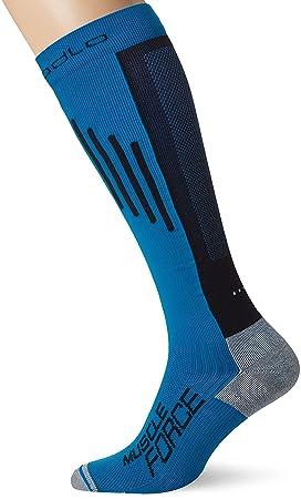 Odlo Extra Long Muscle Fo - Calcetines de compresión para Correr, Mixtos: Amazon.es: Deportes y aire libre