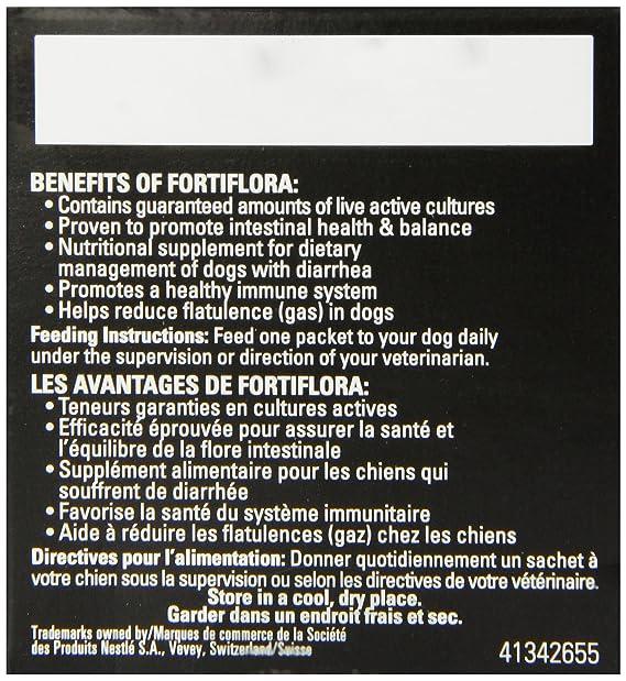 Amazon.com: Caja de suplemento nutricional Purina Fortiflora ...