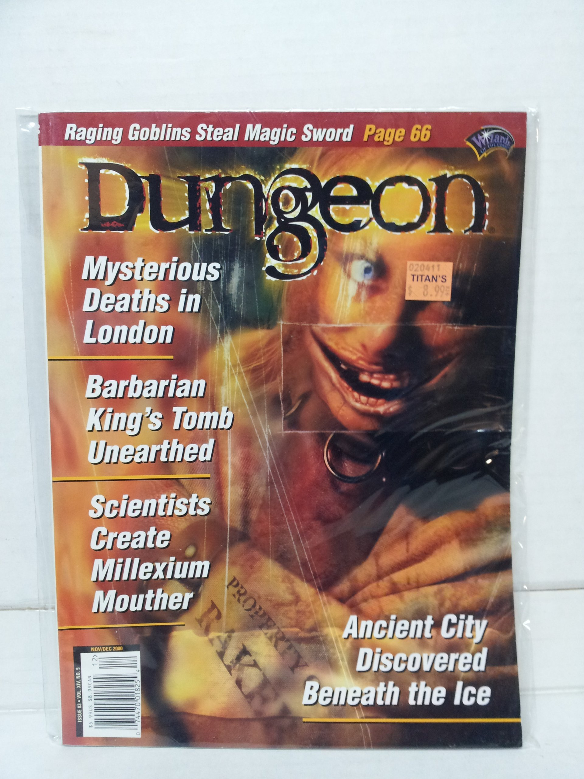Read Online Dungeon Magazine 83 pdf