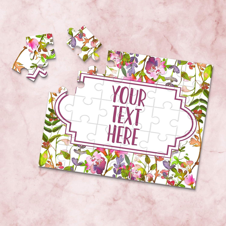 CYOP0156 Create Your Own Puzzle Announcement Ideas Custom Puzzle Wedding Announcement Personalized Puzzle Pregnancy Announcement