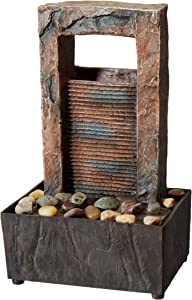 Koehler Home Decor Cascading Water Tabletop Fountain