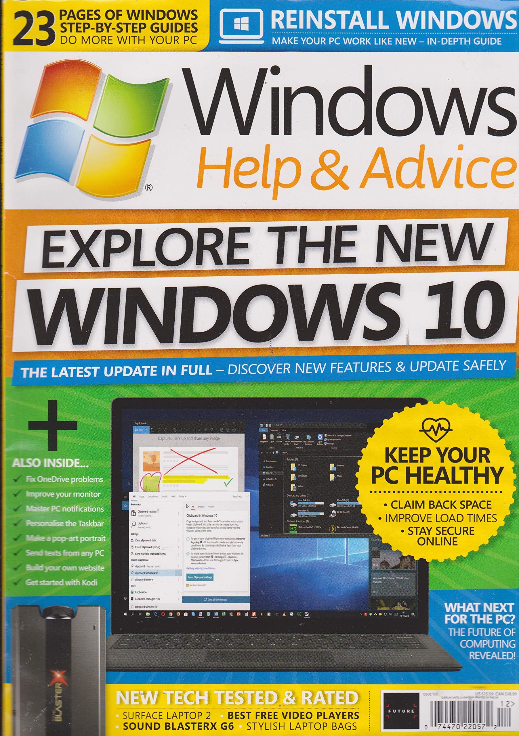 Windows Help & Advice Magazine Issue 155: Various: Amazon com: Books