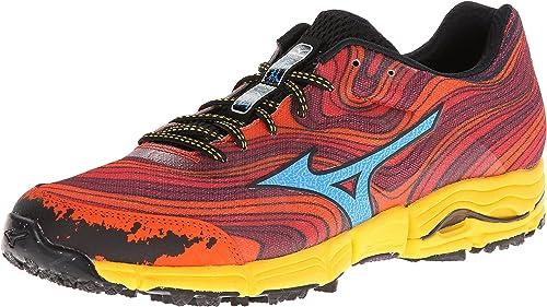 Mizuno Wave Kazan Hombre US 11.5 Rojo Zapato para Correr: Amazon.es: Zapatos y complementos