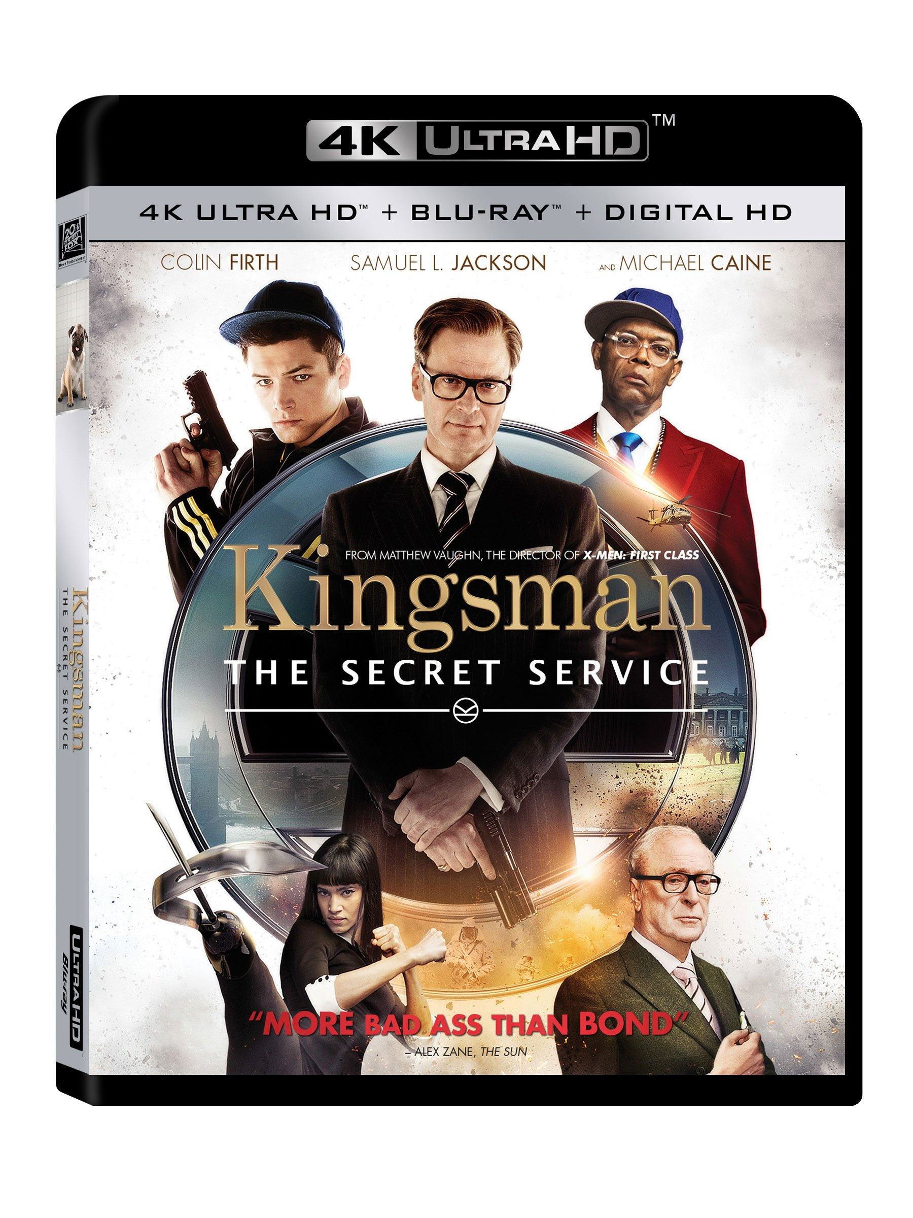 4K Blu-ray : Kingsman: The Secret Service (Digitally Mastered in HD)